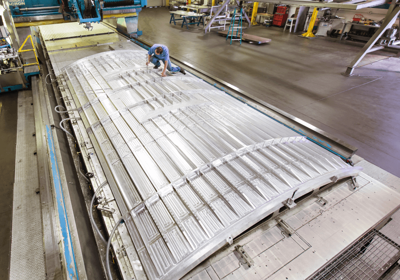 Amro Fabricating - SLS Core Stage Primary Structure Image 3